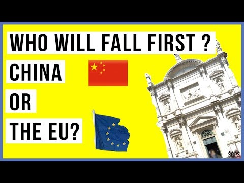 Who Will Fall First, CHINA or the EU? Markets Fear the End of QE Will Bring Global Crash!