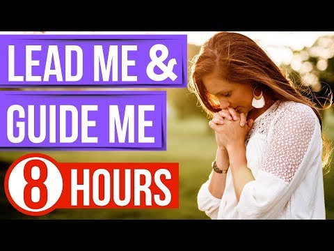 God's guidance and direction (Bible verses for sleep)