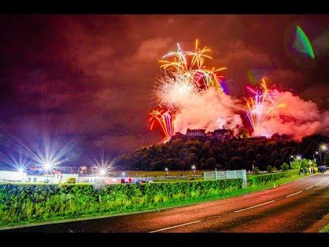 Runrig  The Last Dance  Firework Display  Stirling
