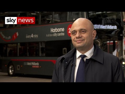 Chancellor Sajid Javid: Confidence is back in the economy