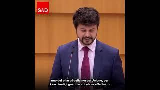 Intervento in Plenaria di Brando Benifei, capodelegazione PD, sul certificato verde digitale.