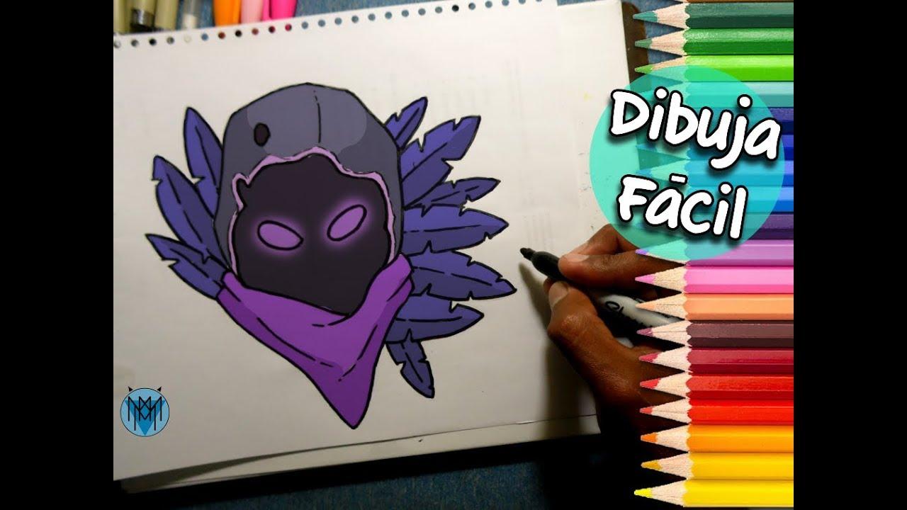 Youtube Raven Fortnite Como Dibujar A Raven De Fortnite Dibustrador Art Youtube