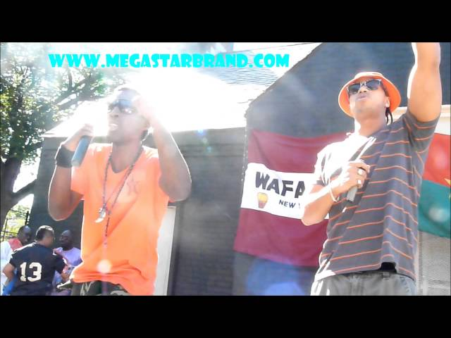 A-Thug&J-SToney Live @ African Parade NYC