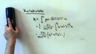 Deriving the Chandrasekhar Limit