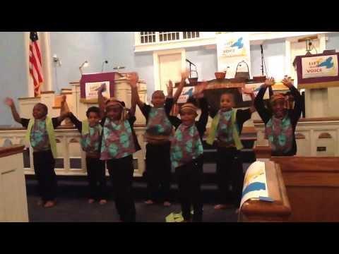"""Africa"" - K/1st Black History/Heritage Program 2014- Oasis Performing Arts a School Charlotte"