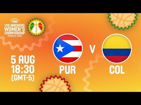 Puerto Rico v Colombia - Full Game - Quarter-Final