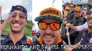 Fernando Alonso & Daniel Ricciardo take over the vlog! Brazil GP Interlagos | Lewis Hamilton Vlogs