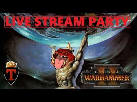Turin Live Stream Multiplayer Battles | Total War: Warhammer 2 - THE GREAT RETURN