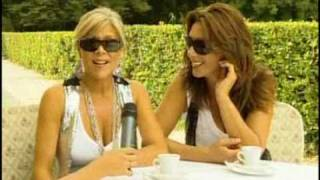Samantha Fox & Sabrina Salerno duet - Interview italian tv