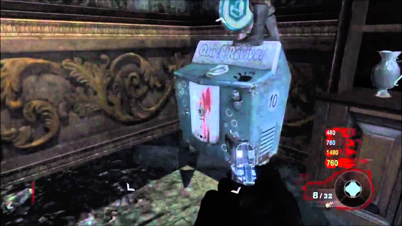Black Ops Glitches Zombies Getting On Quick Revive On Kino Der Toten Glitch Youtube
