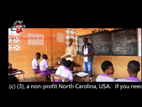 FREE EDUCATION IN GHANA 2017