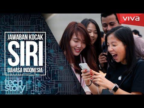 Jawaban Kocak SIRI iPhone Bahasa Indonesia!
