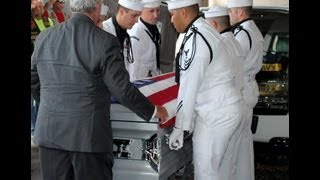 Military Funeral for US Navy Corpsman 3rd Class Clayton R. Beauchamp