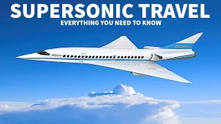 Supersonic Travel with Boom
