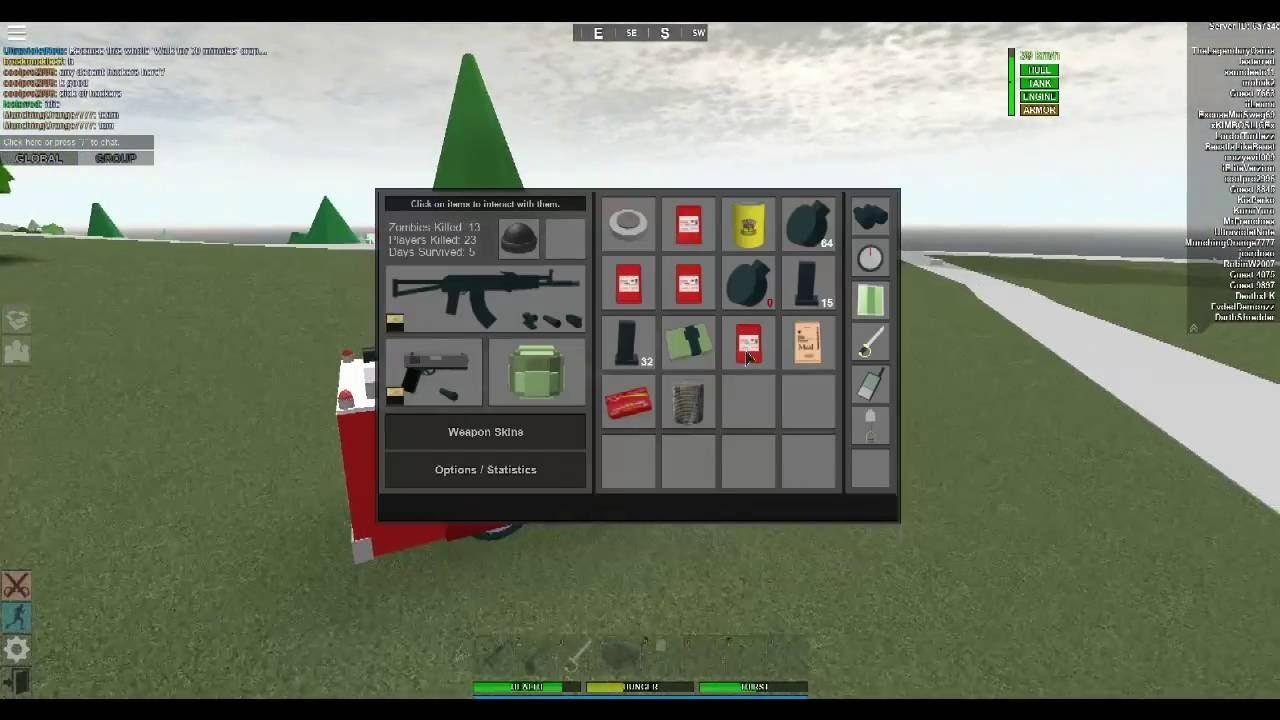Roblox apocalypse rising reborn the game got hacked