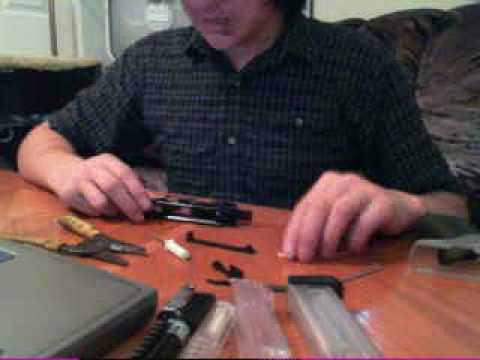 How to Diassemble And Assemble A Taurus 24/7 Spring Airsoft