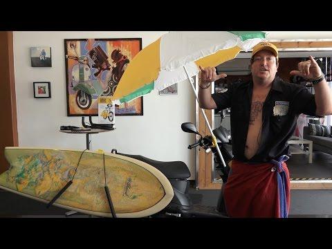 Vespa Scooter Surf Rack by Carver
