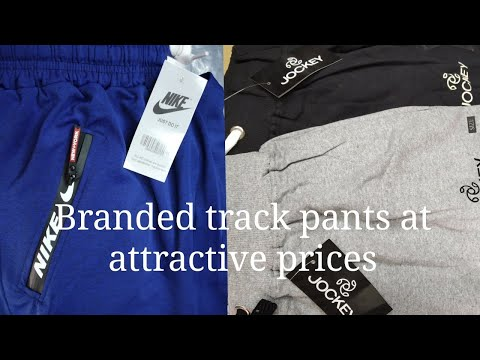Branded tracks pants at attractive prices