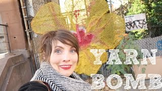 Kristy Glass Knits: @naomirag East Harlem Yarn Bombing