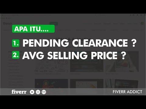 """apa-itu-""""pending-clearance""""-dan-""""avg-selling-price""""-fiverr-?"""