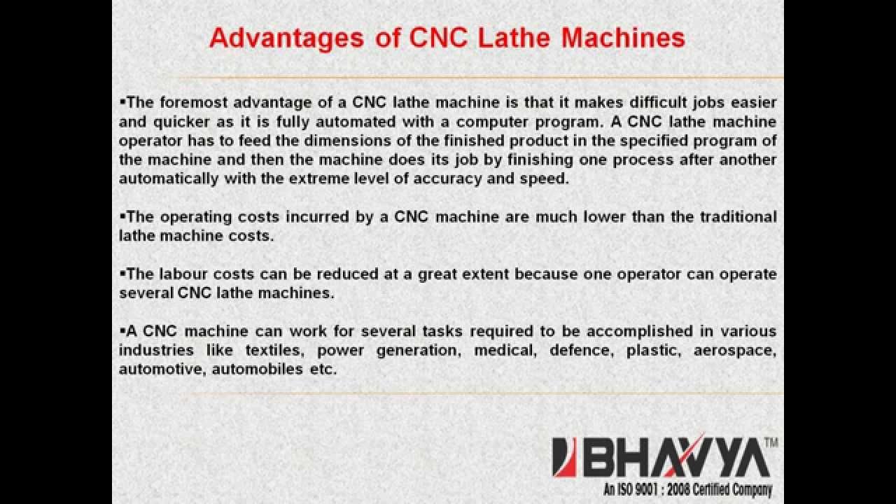 Advantages Range Of Cnc Lathe Machines Www Bhavyamachinetools Com