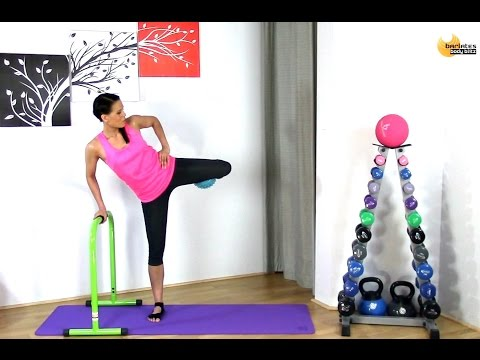 Free Barre workout - BARLATES BODY BLITZ Lower Body Barre with Ball 2 with Linda Wooldridge