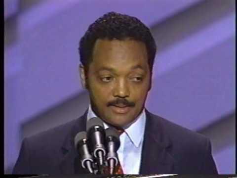 Jesse Jackson Speech to 1988 Convention Pt 7