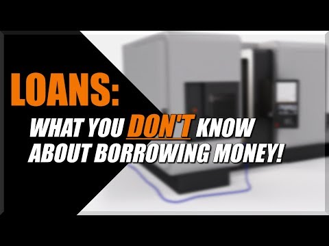 Buying a CNC Machine: Should I Take Out A Loan?