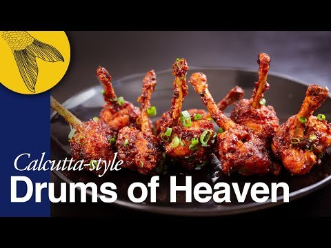Chicken Lollipop—Drums Of Heaven—includes Cutting Steps—Calcutta Indo-Chinese