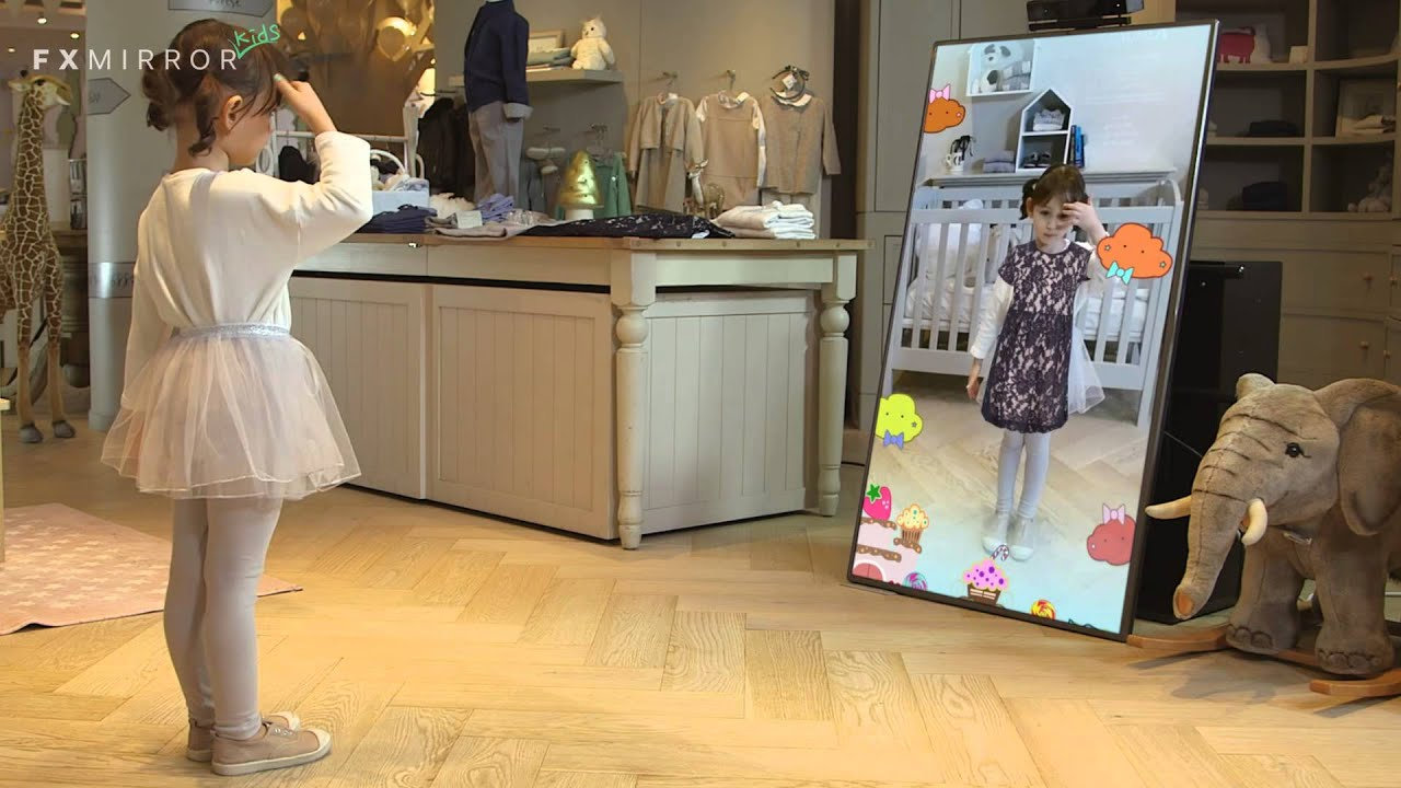 Fxmirror Kids 3d Virtual Fitting Interactive Play Youtube
