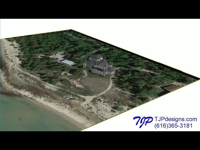 TJP Designs Lake Huron Addition 360 Site View C11