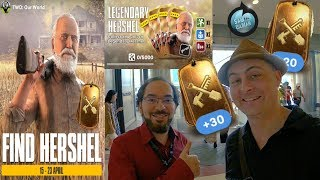Hershel Legendary Card Event in TWD our world