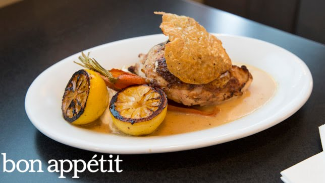 Charred Citrus & Lemon Chicken From Empire Diner's Amanda Freitag—Cook Like a Pro