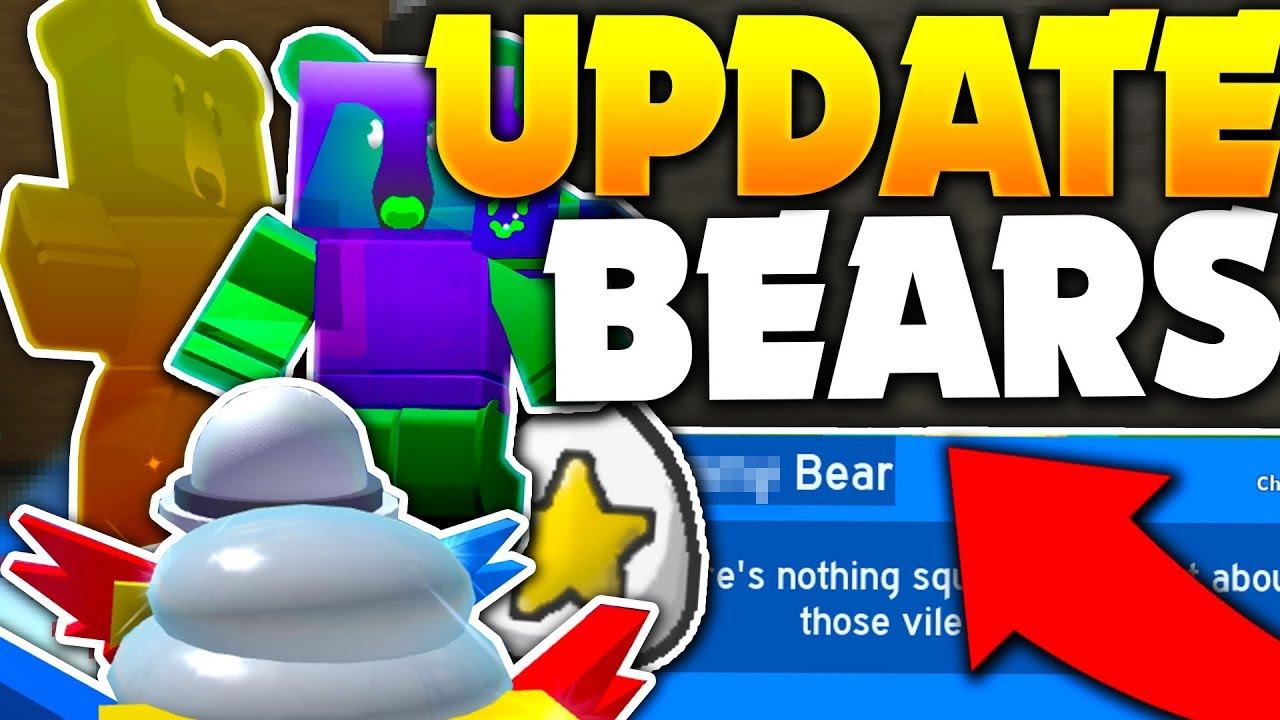 New Update Bears Leaked By Owner All Info Roblox Bee Swarm