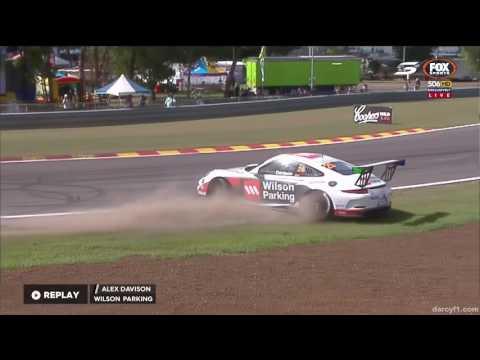Davison Crashes Qual   Carrera Cup - Darwin 2016