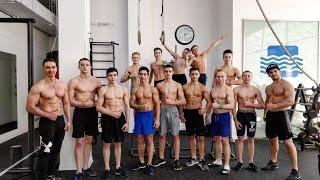 VLOG: гимнасты в тренажерке 31 декабря 🎄