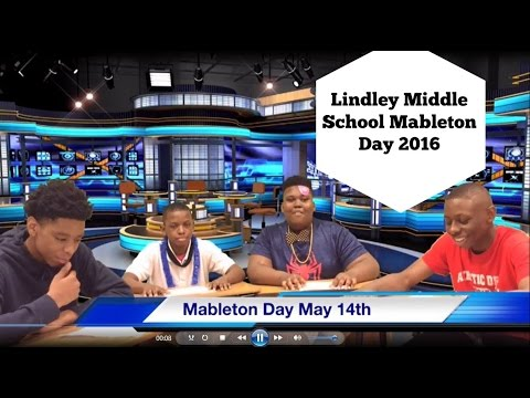 Lindley Middle School Mableton Day Promo #4 2016