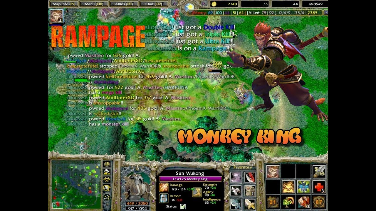 Download Dota - Monkey King - RGC (Ranked Gaming Client)