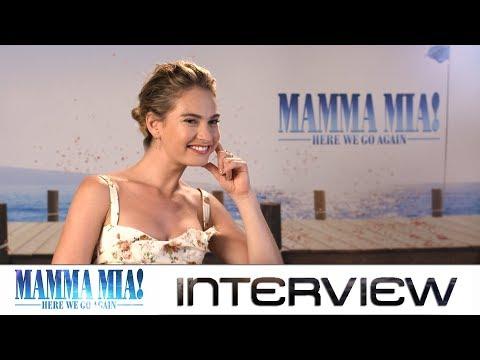 Mamma Mia 2: Interview mit Lily James zum Sequel des ABBA-Musicals