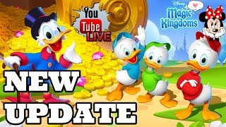 Disney Girl LIVESTREAM! UPDATE 31 HERE WITH BIG CHANGE! DUCKTALES & LION KING! Disney Magic Kingdoms