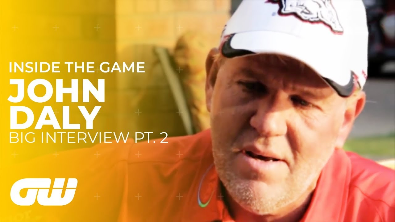 John Daly on Alcohol, Injury and Weight Loss | Big ...
