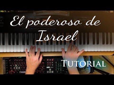 El Poderoso De Israel - Piano Tutorial