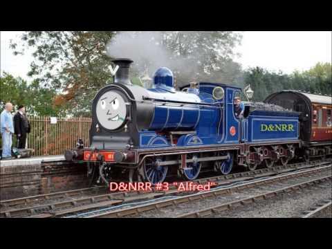 5- American Rail Character Slideshow
