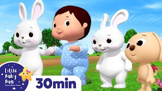 Cute Animals Song | +More Nursery Rhymes & Kids Songs | ABCs and 123s | Learn with Little Baby Bum