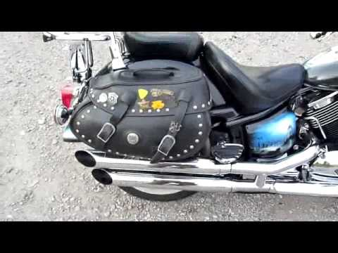 yamaha drag star xvs 1100 silvertail k02 youtube. Black Bedroom Furniture Sets. Home Design Ideas