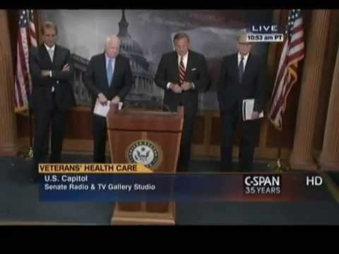 Senators Coburn, Burr, McCain, and Flake Press Conference on Veterans Choice Act