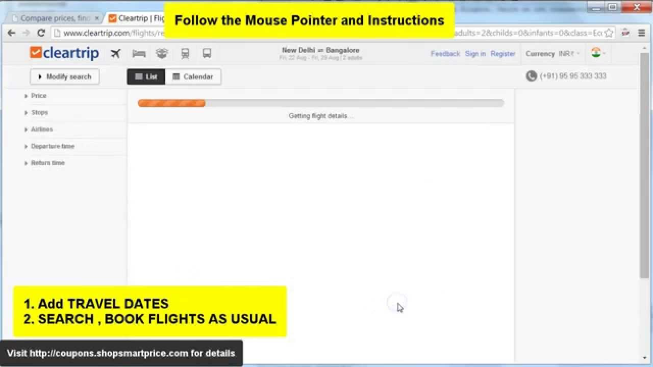 How to Get Best Online Flight and Hotel Prices at Cleartrip ...