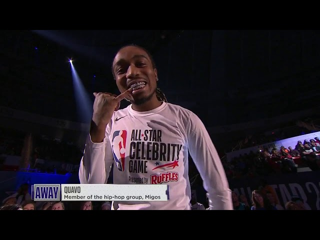 2019 Celebrity Game Presented By Ruffles Home & Away Team Intros | 2019 NBA All-Star