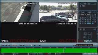 123CCTV Review: Playback of recorded video on DVR Recorder