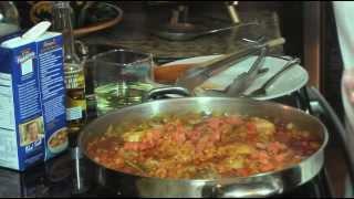 Cuban Arroz Con Pollo A La Chorrera-yellow Rice & Chicken